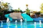 water slide pool, bali water slide, bali mandira pool, bali mandira water slide, bali mandira, bali mandira resort