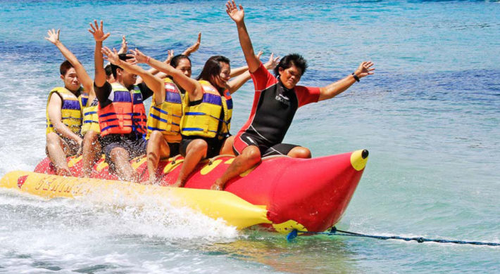 Bali Banana Boat Riding