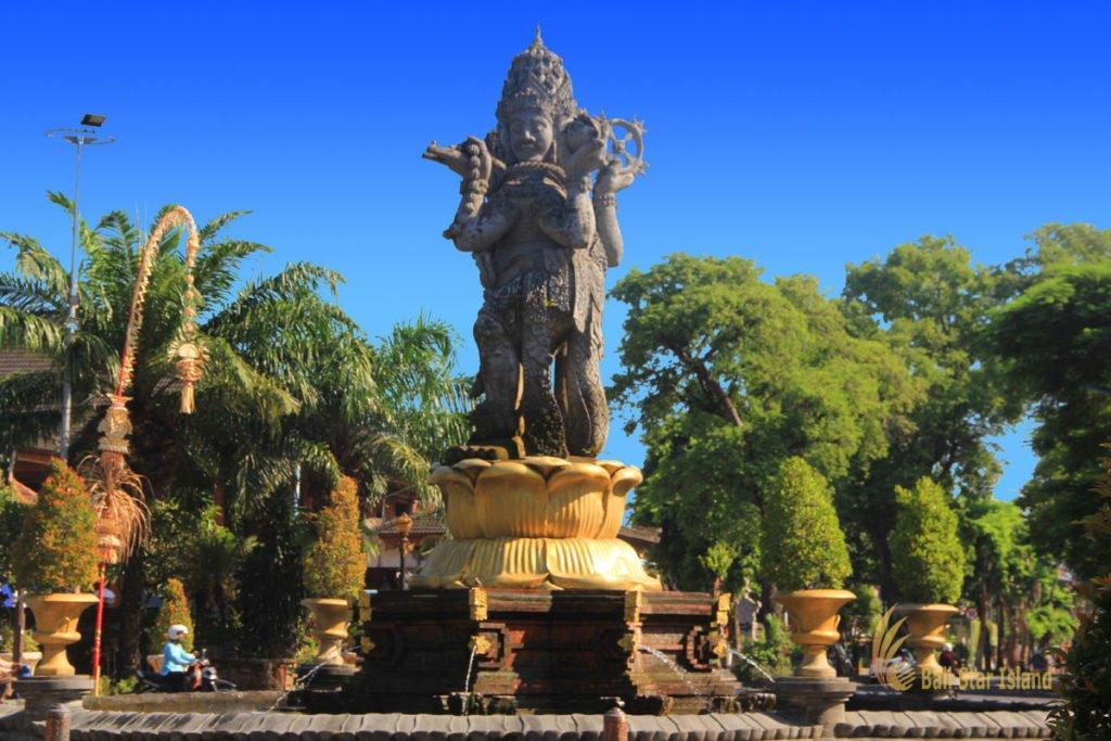 denpasar, bali, city, town, denpasar city, capital city, bali capital city, catur muka