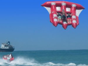 stable flying, bali flying fish, flying fish bali ride