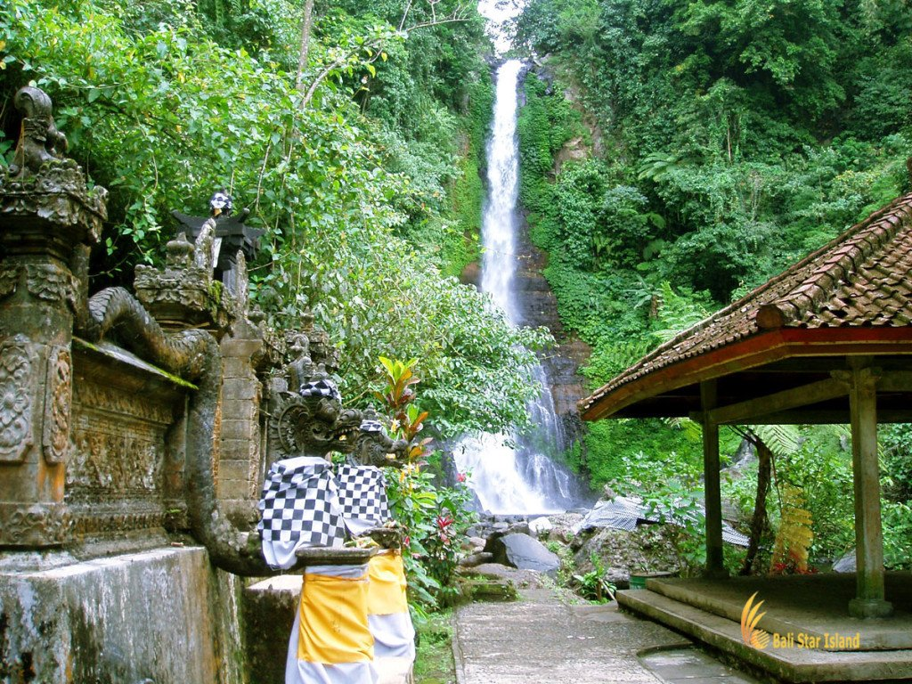 gitgit, singaraja, bali, waterfalls, gitgit waterfall, singaraja bali, places, places to visit