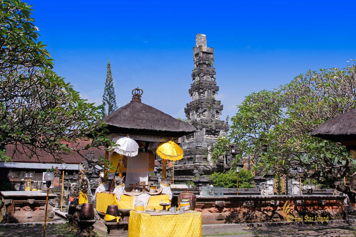 Jagatnatha, temple, bali, denpasar, city, shrine, padma building