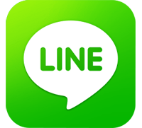 Line Icon, line messenger, live chat, bali star island
