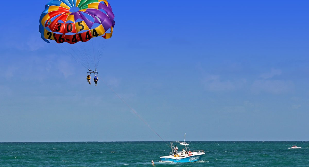 Bali Parasailing – Marine Water Sport Activities