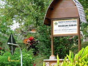 Entrance, sign board, subak, bali, museum, agriculture, irrigation, system, subak museum, bali agriculture,