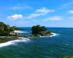 exploring bali island tanah lot, bali, temple, rock, sea, tanah lot bali, tanah lot temple, bali temple on rock, places