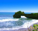 tanah lot, bali, temple, rock, sea, tanah lot bali, tanah lot temple, bali temple on rock, places, batu bolong,