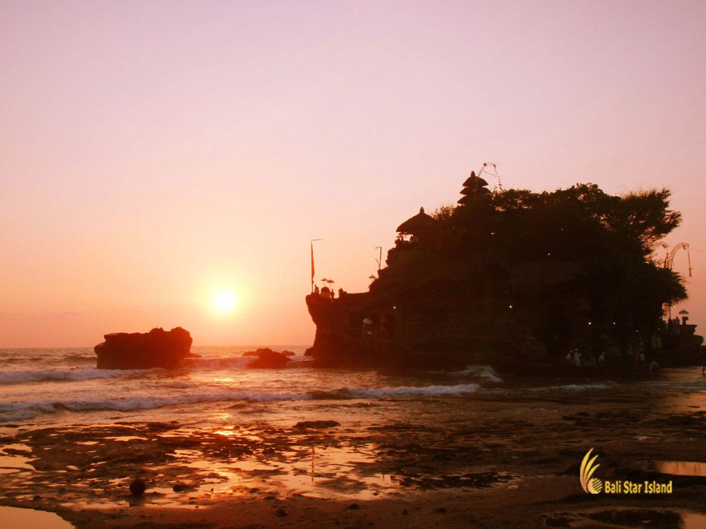 tanah lot, bali, temple, rock, sea, tanah lot bali, tanah lot temple, bali temple on rock, places, sunset, tanah lot sunset, places of interest