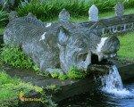Pig Statue – Tirta Gangga Water Park