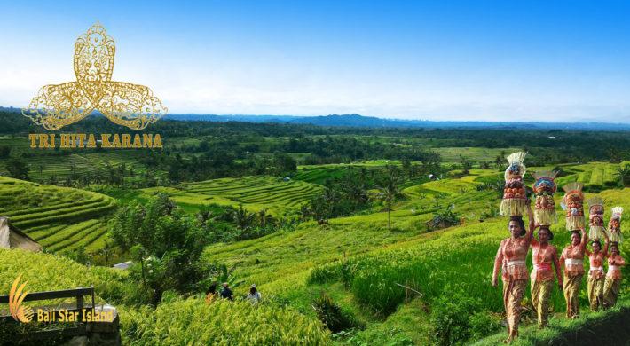 Balinese Life Concept Tri Hita Karana
