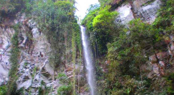 Blahmantung Waterfall