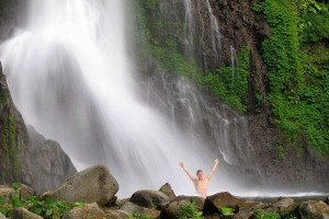 bali, nature, bali nature, waterfall, blahmantung waterfall, blahmantung village, swim, swimming at waterfall, places to visit, bali places to visit
