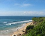 bali, beach, dreamland beach, white sand, beautiful beach, beach panorama