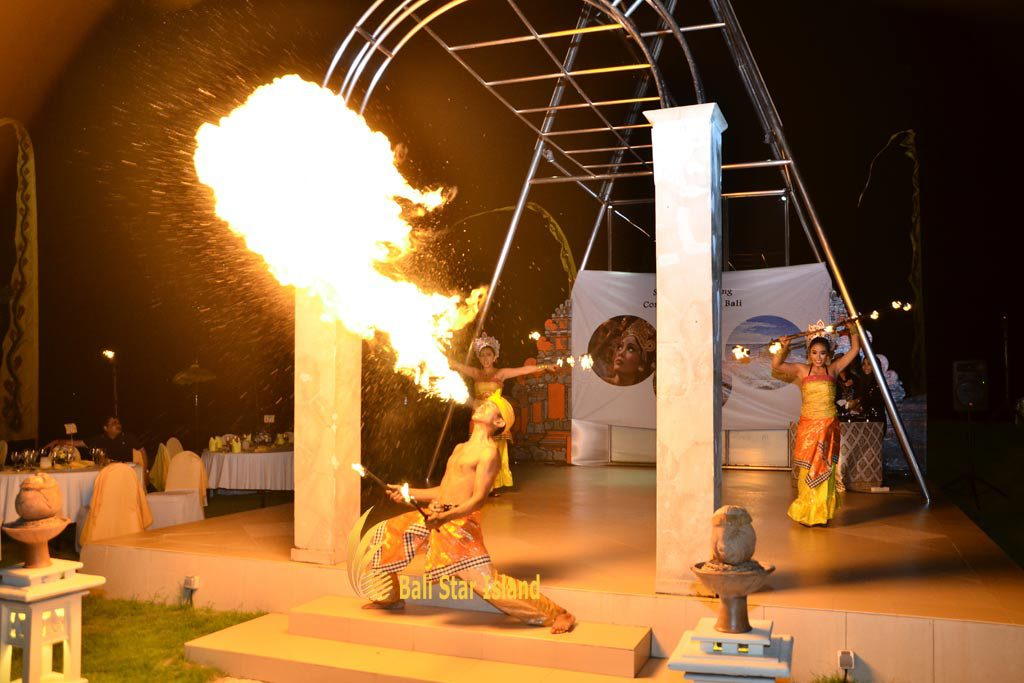 fire dance, entertainment, bali event planners