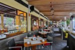 samudera restaurant terrace, samudera restaurant, bali samudera restaurant, grand istana rama restaurant, grand istana rama