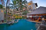 lagoon swimming pool, swimming pool kuta, pool kuta paradiso