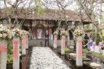 bali wedding setup, legian wedding setup, legian beach hotel