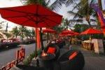 ocean terrace noon, ocean terrace restaurant, legian beach restaurant, legian beach hotel