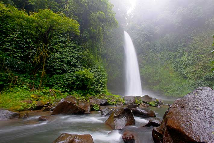 bali natural, nungnung, nungnung waterfall