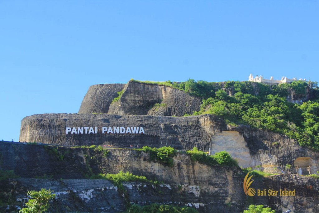 bali, beach, pandawa beach, white sand beach, secret beach, white cliff, high cliff