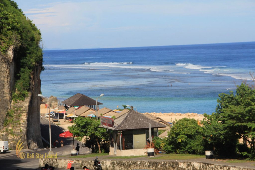 Pandawa Beach, Beach, Bali, Tourist destination, Tropical Beach, Ungasan hills ,Kutuh Village, Panorama from above.