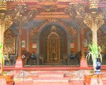 balinese, decorations, ubud, bali, palace, ubud palace, puri saren, tourists, destinations, tourist destinations, uniqueness
