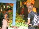 fruit shops, badung, traditional, market, denpasar, city, traditional market, badung traditional market, denpasar market