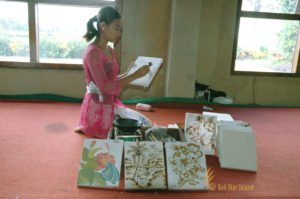 batik painting, batik painting lesson, bali cultures, bali culture center, bali classic culture center