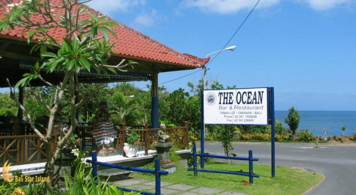 Ocean Restaurant Dinner Menu | Bali Tanah Lot Tours