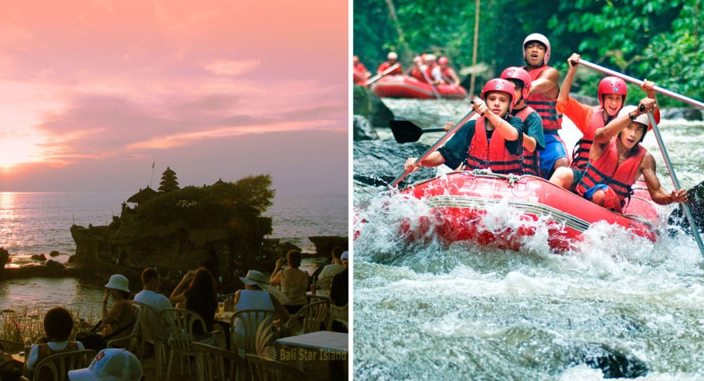 rafting, bali, tanah lot, rafting tanah lot, rafting tanah lot tours, tour packages, bali tour packages