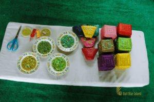 sparkle handicraft lesson, bali cultures, bali culture center, bali classic culture center