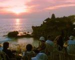tanah lot, sunset, bali tourist activities, bali tours, sightseeing, sunset tour dinner
