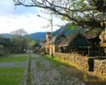 view, tenganan village, east bali, bali ancient villages