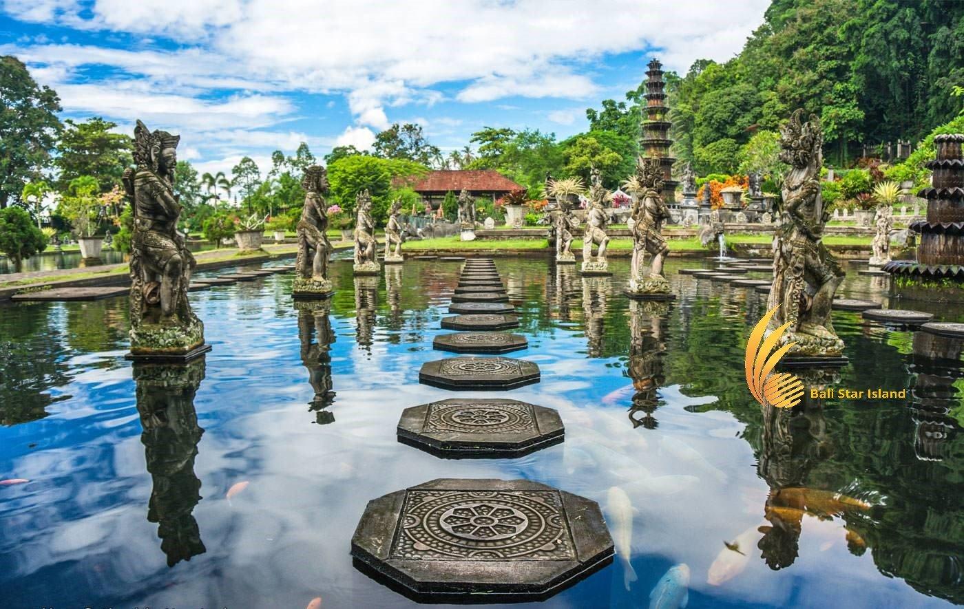 Tirta Gangga Water Park - Karangasem Bali Heritage Sites