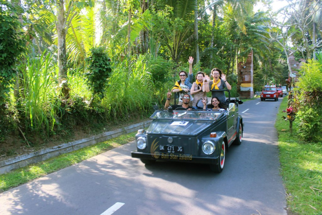 bali, vw safari, jatiluwih rice terrace expedition