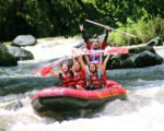 ayung river,bali rafting cycling packages