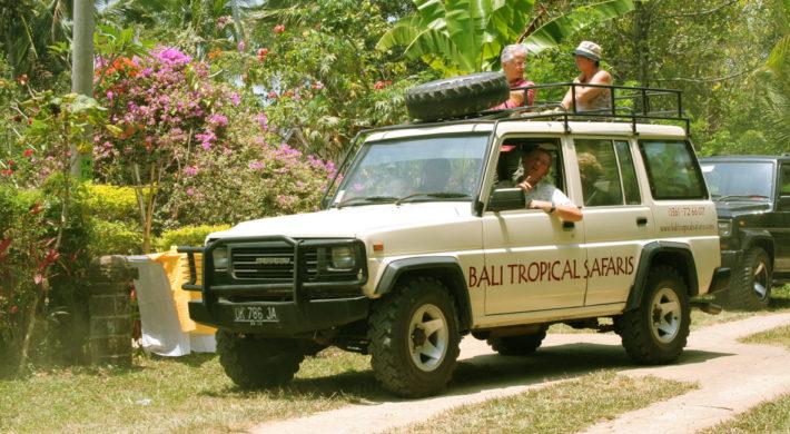 Bali Tropical Safaris Itinerary – Bali 4 WD Jeep Tours
