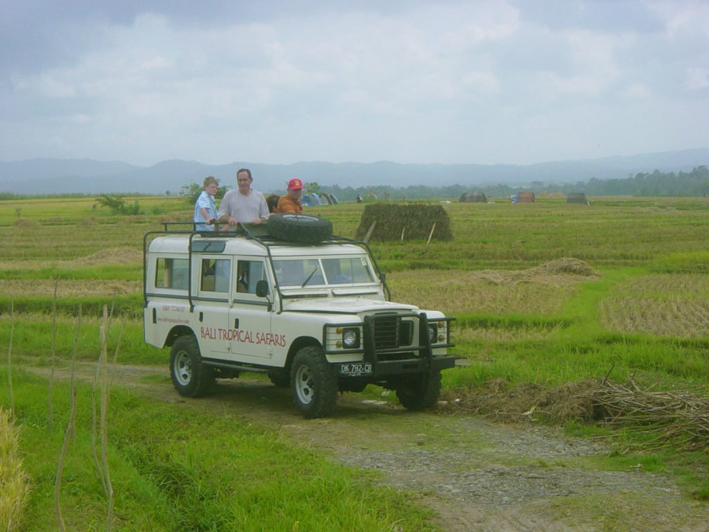 bali, tropical, safaris, bali tropical. bali tropical safaris, 4 wd, jeep, adventures, land rover, 4 wd jeep, jeep adventures, rice field