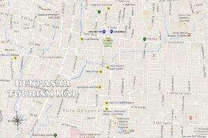 Denpasar City Map