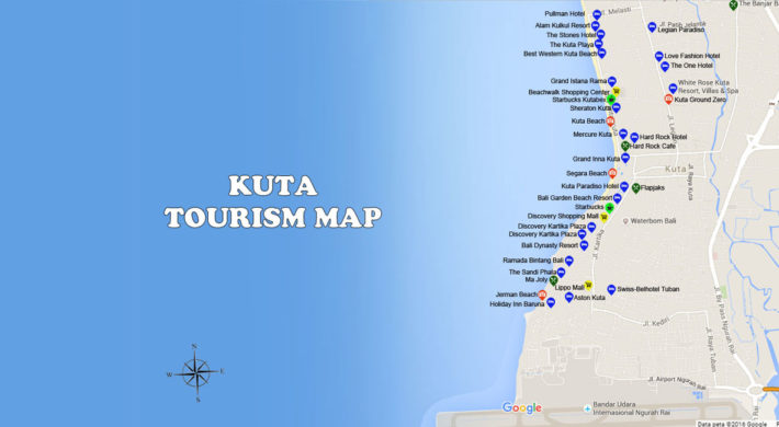 Kuta Map | Bali Travel Guides