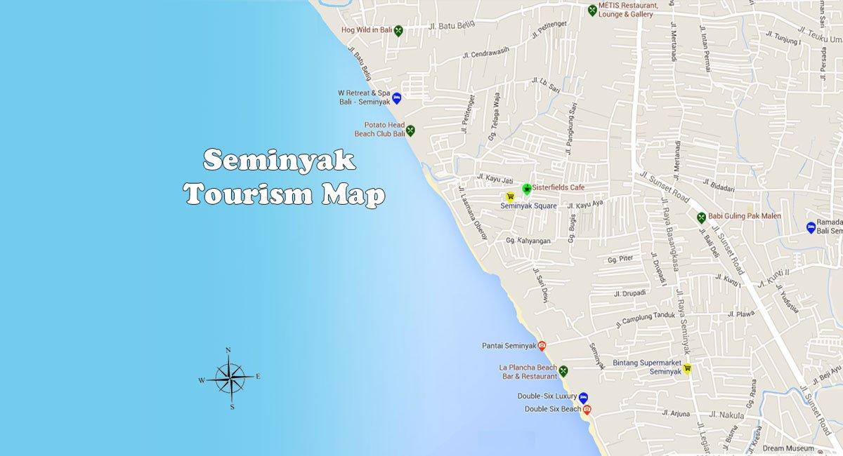 Seminyak Map