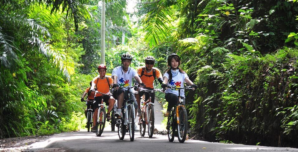 Ubud Cycling Trail – Sobek Bali Adventure