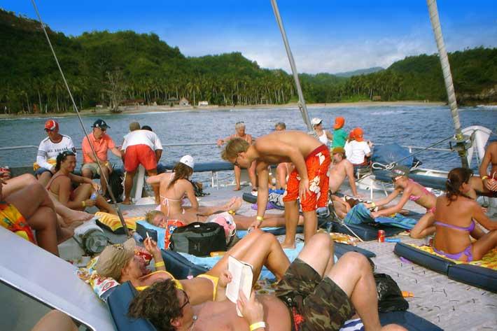 bali hai, castaway cruise, bali hai cruises, relax on boat