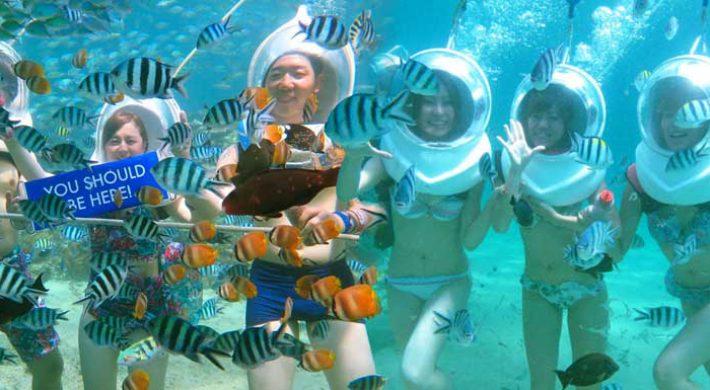 Bali Sea Walk Adventures