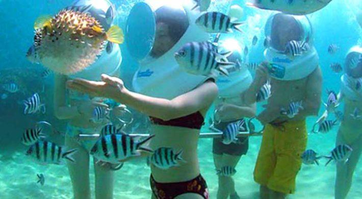 Bali Sea Walker – Sanur Underwater Tour