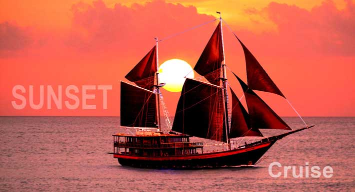 Bali Sunset Cruises – Romantic Bali Sunset Dinner Cruises