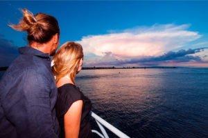 romantic sunset cruise, bali hai cruises, rendezvous dinner, bali hai sunset cruise, bali hai sunset cruise dinner, sunset cruise dinner