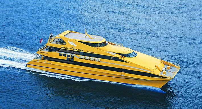 Bounty Cruise Bali – Lembongan Cruise Activities