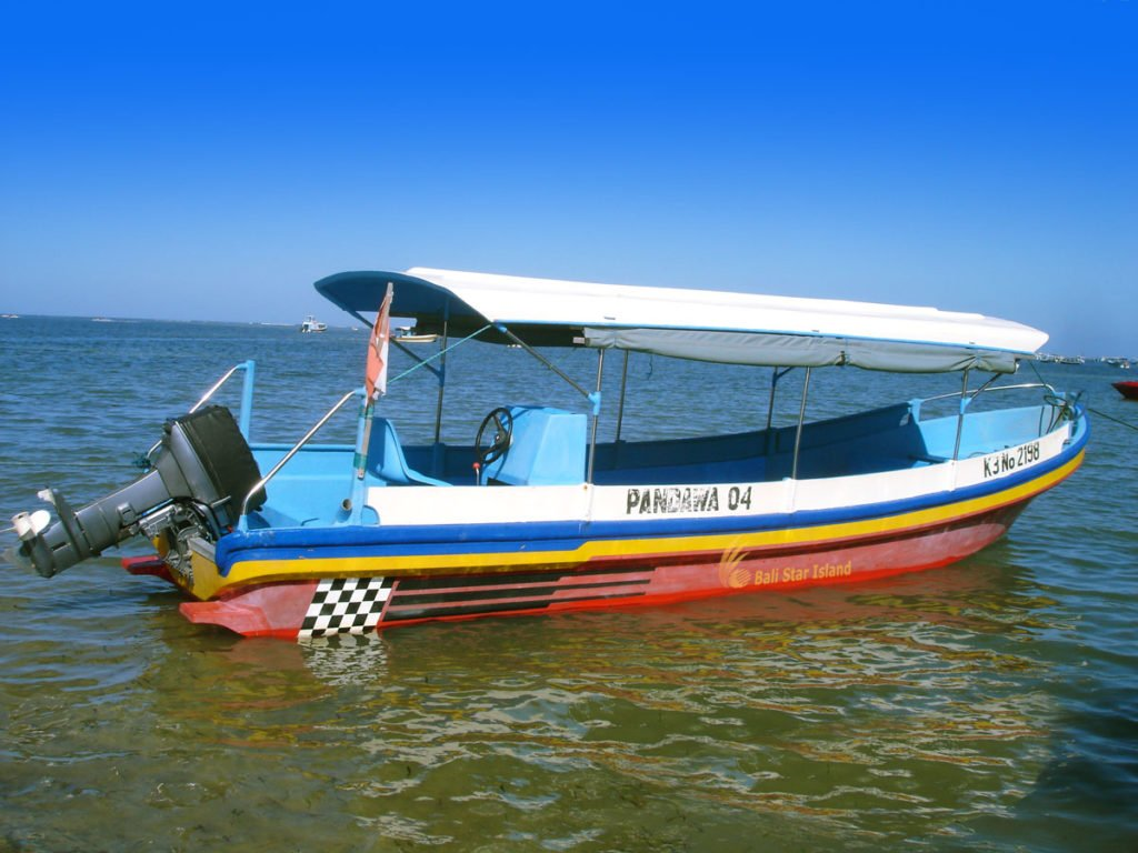 bali boat specifications, bali boat charter, bali water sport activities, long boat