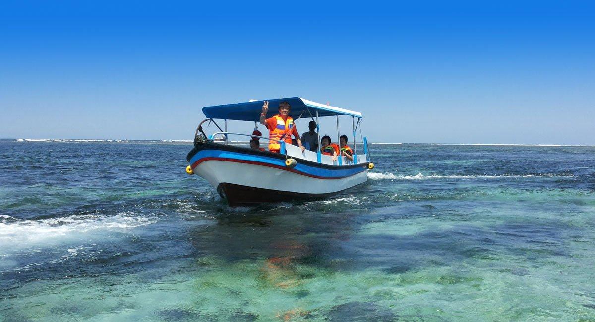 Bali Glass Bottom Boat Tour